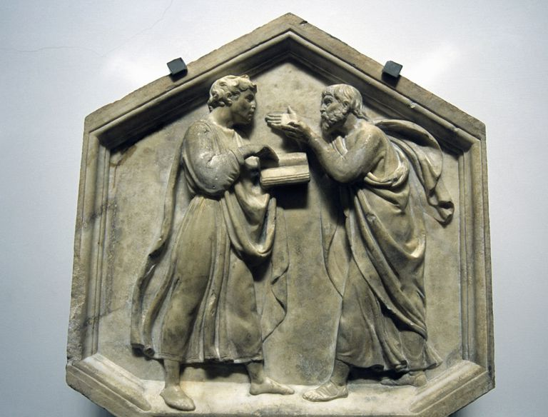 Plato and Aristotle - Danita Delimont - Gallo Images - GettyImages-102521991