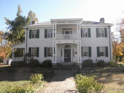 Photo Tour Of Murrell Home Oklahomas Only Antebellum Plantation