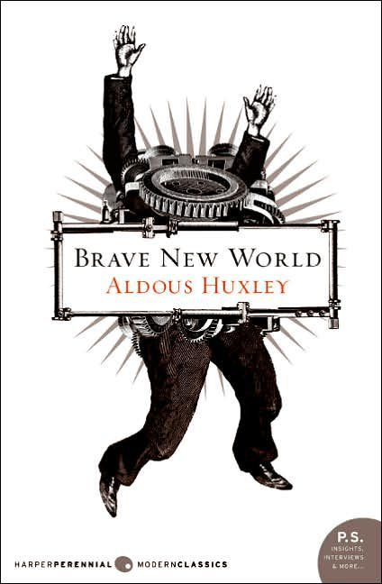 the questions and answers about the novel brave new world by aldous huxley Aldous huxley's novel brave new world starts with an introduction to a state in which the authorities try to control society by producing uniform, or - 10471005.