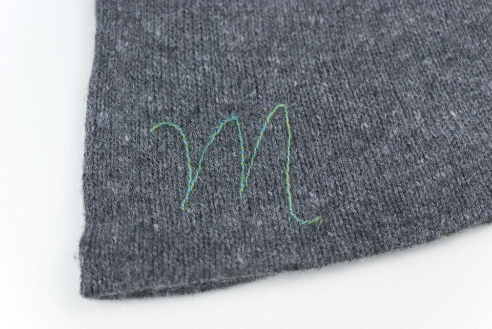 Stitching on Knitwear