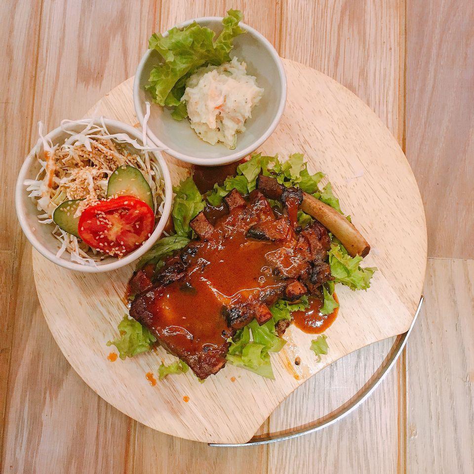 Thai barbecue ribs
