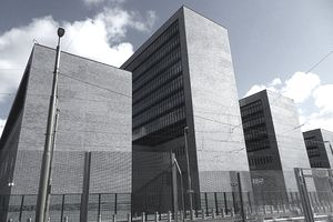 The buildings of Europol at The Hague.