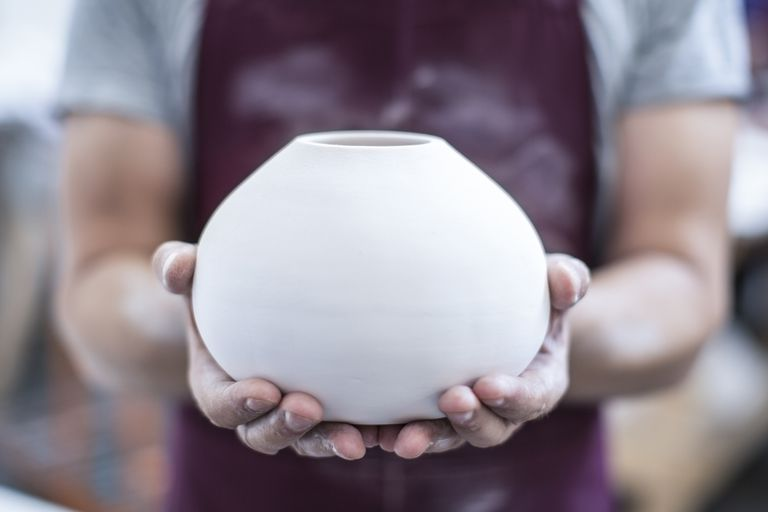 Pottery is an example of a ceramic.