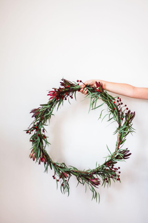 A Simple, Gorgeous Wreath