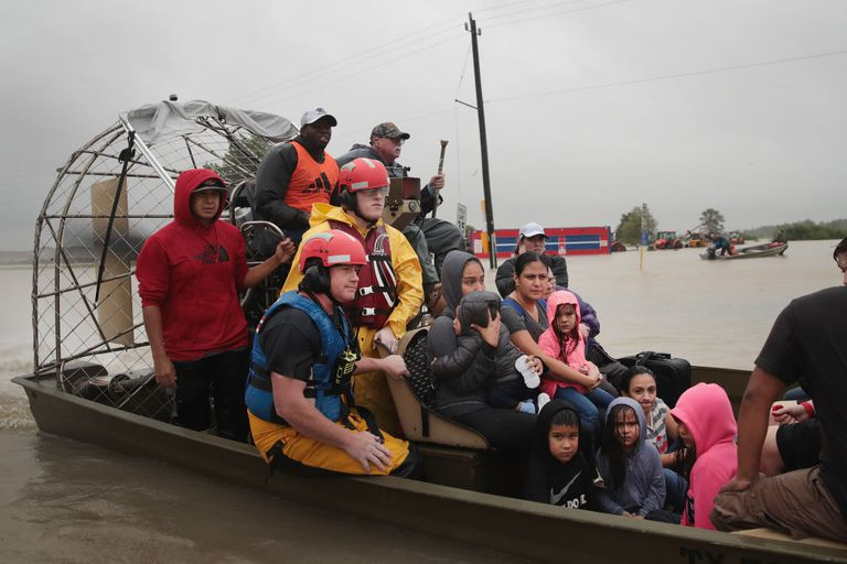 Hurricane Harvey rescues in Aug 2017.