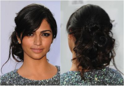 Photos of black hairstyles for prom should you try a casual prom updo this year urmus Image collections