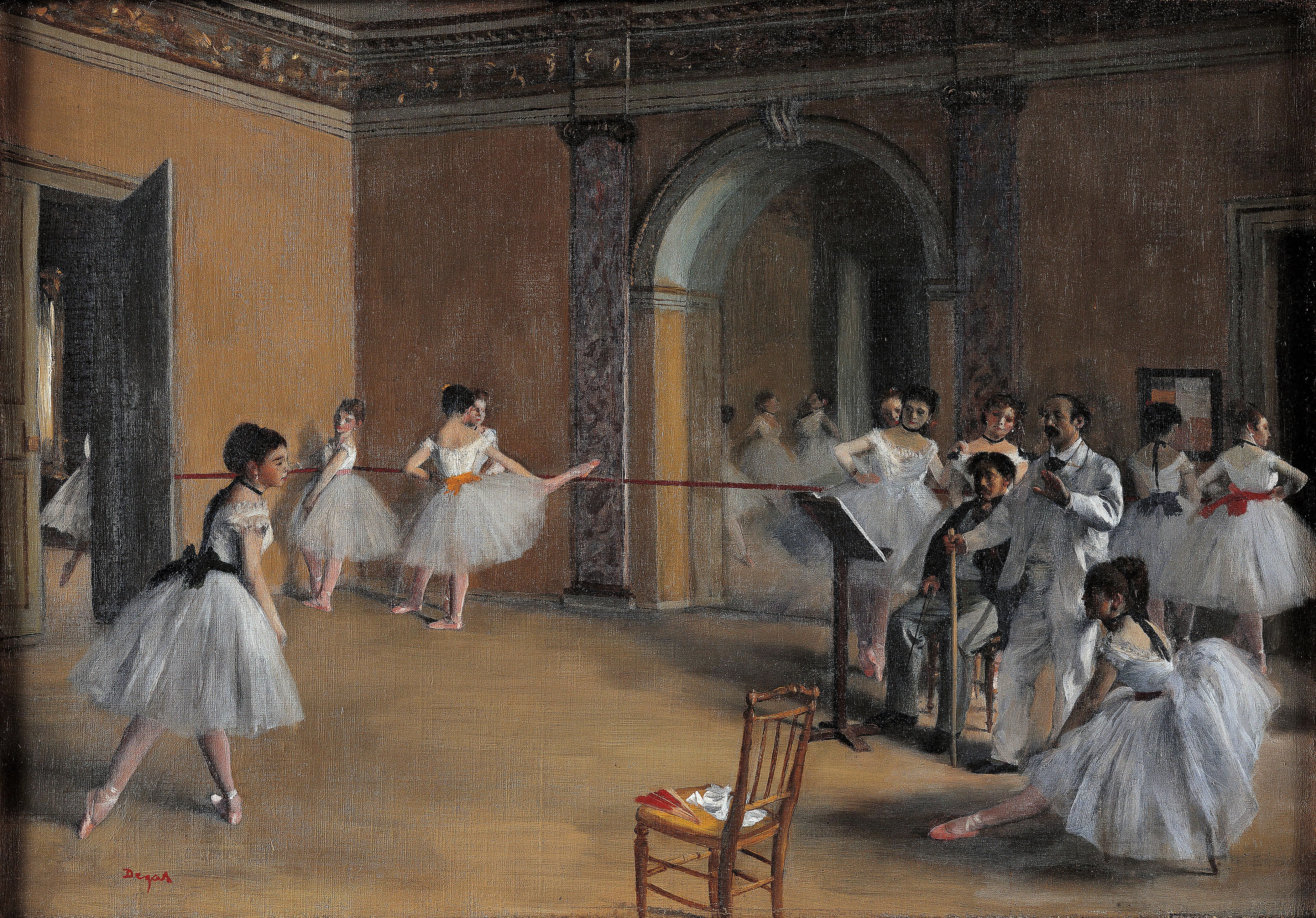 essay dance class edgar degas Edgar degas based most of his paintings on dance and nudity of women even though edgar degas is referred to as an impressionist, he considers himself a realist even though his works fits both the categories1.