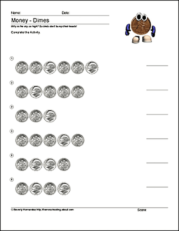 Math Worksheets - Telling Time to the Quarter Hour