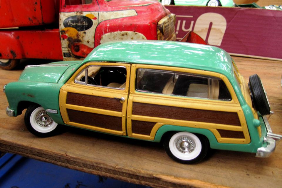 Photo of World's Longest Yard Sale - Woody Model Car