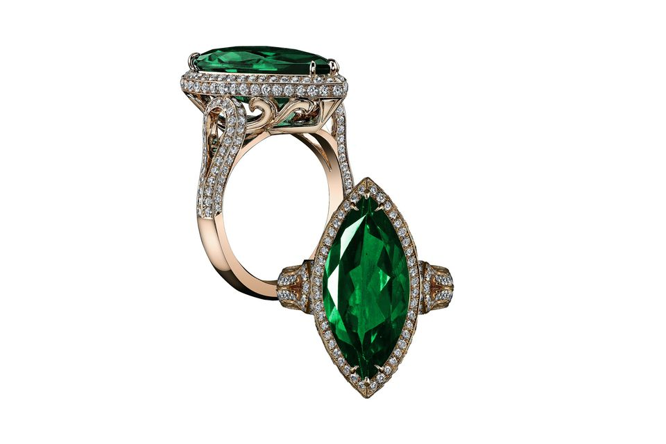 22 Emerald Engagement Rings Best You ll See All Year