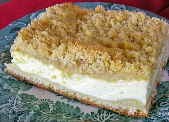 Easy Cheese Streusel Coffee Cake Perfect For A Klatch