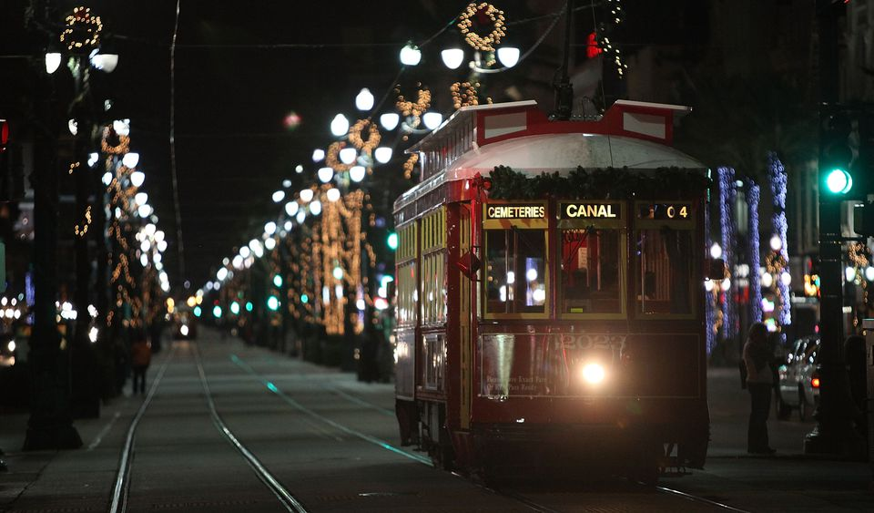 New Orleans Residents Embrace The Holiday Season