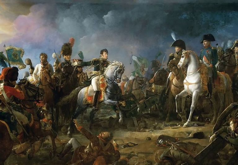 French at the Battle of Austerlitz