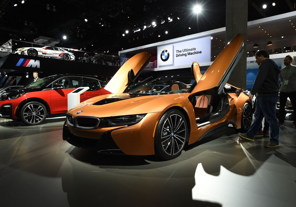 The Los Angeles Auto Show Plays Hosts To Automotive Manufacturers Debuting Latest Models