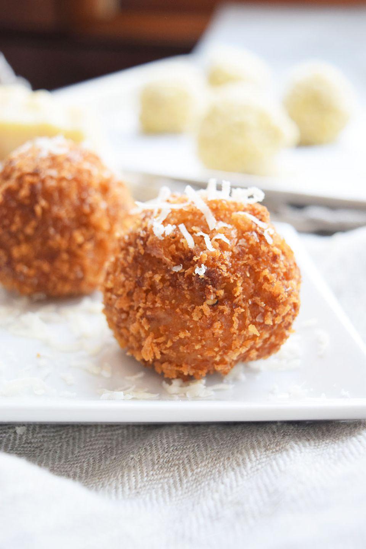 Cheesy Fontina and Mozzarella Arancini