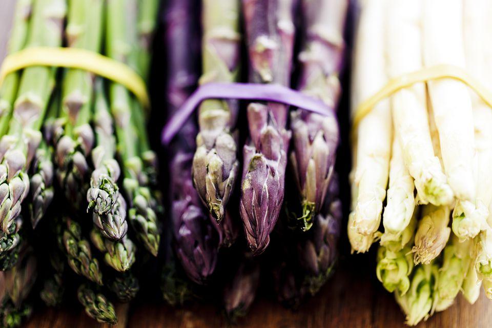 Variety of Asparagus