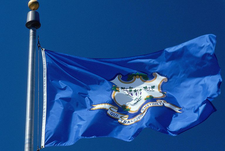 Connecticut flag - Fotosearch - GettyImages-124290338