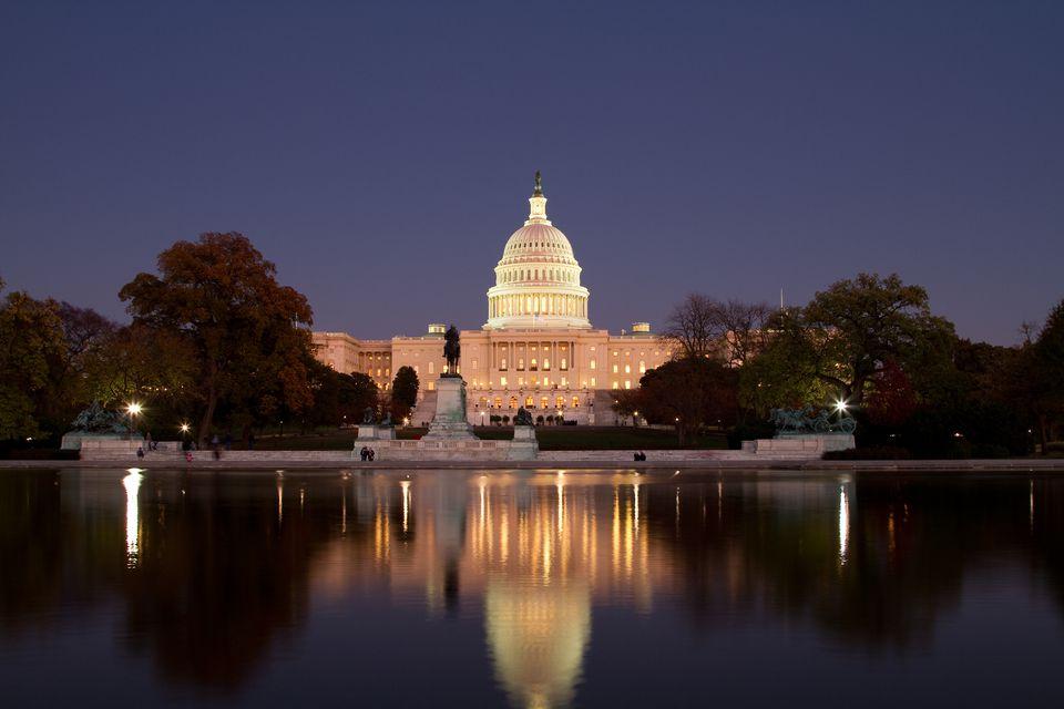 US Capitol at Twilight