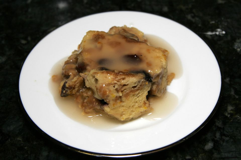 Bread pudding, slow cooker