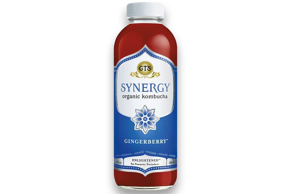 Gingerberry Kombucha
