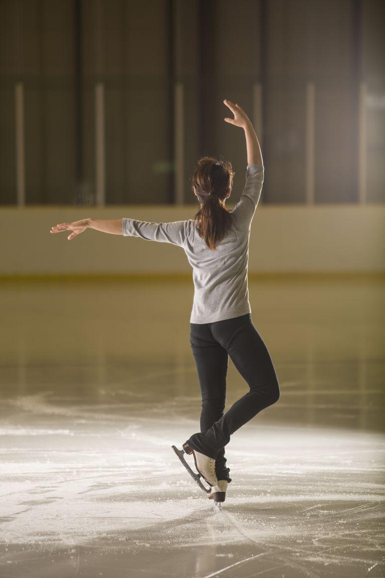 Most Figure Skaters Practice in Figure Skating Pants