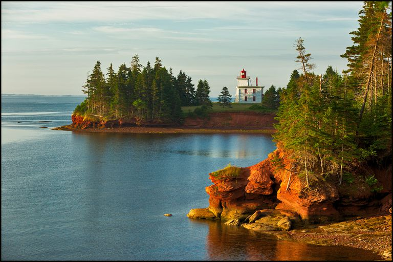 Prince Edward Island in Canada - Color Photo