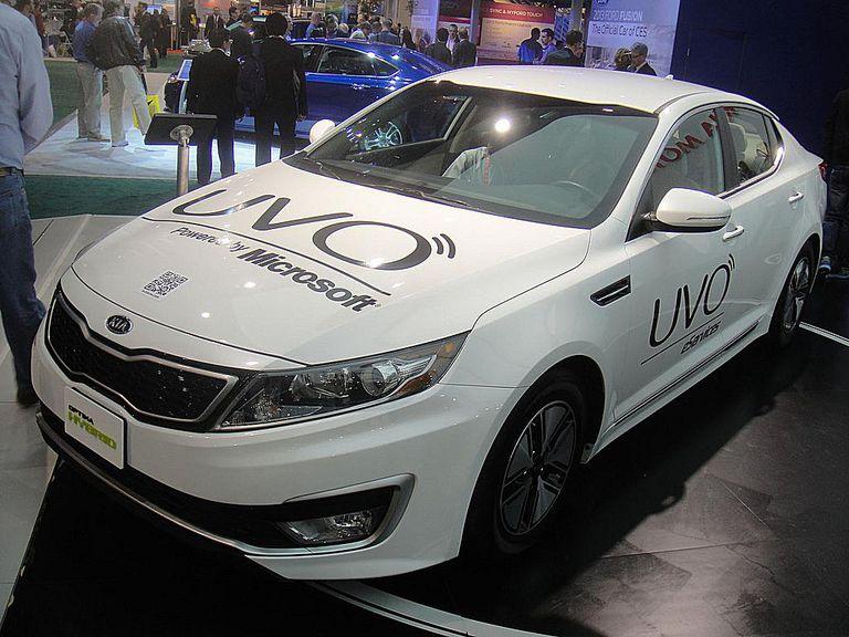 KIA Optima Hybrid with UVO