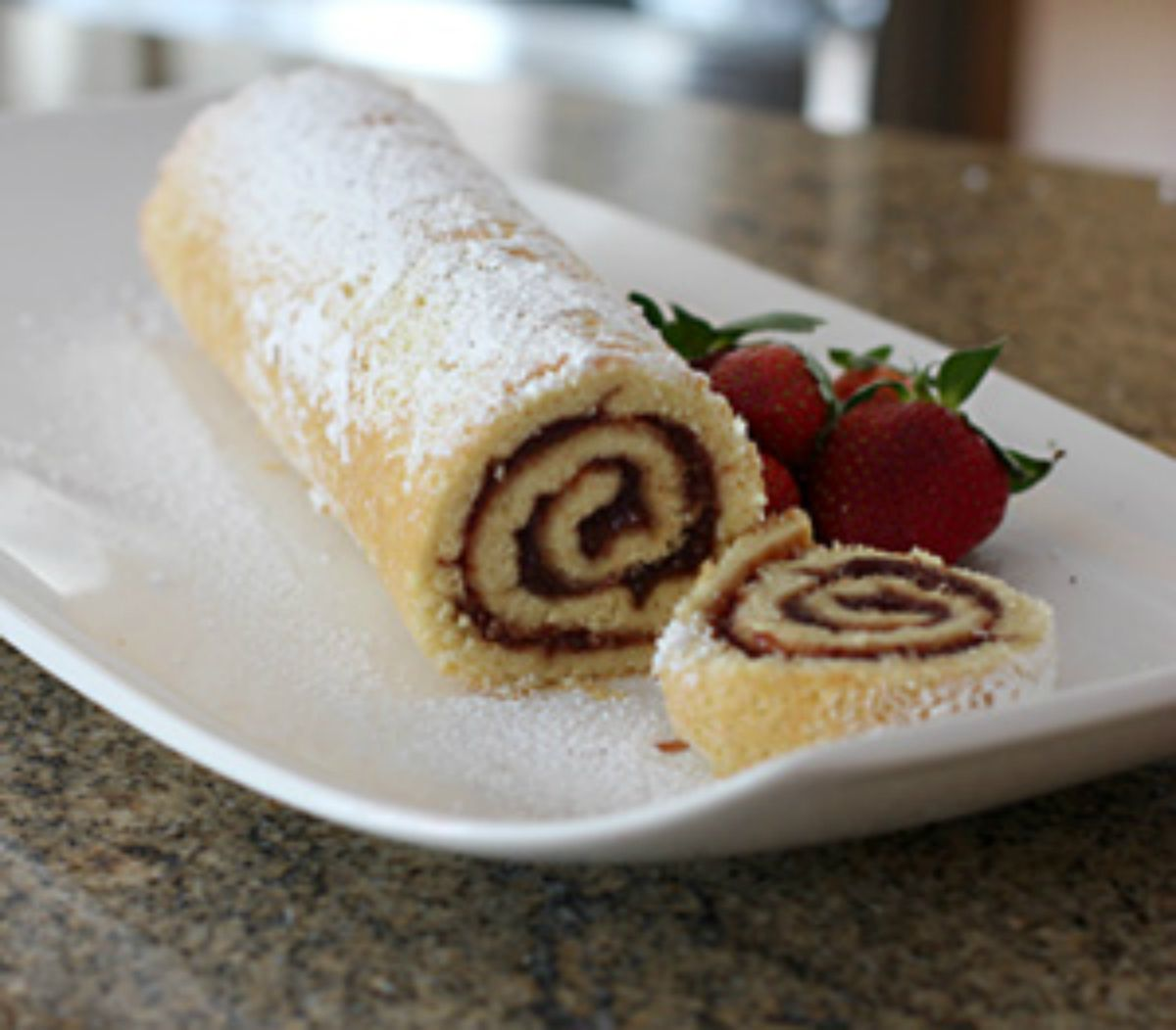 Raspberry Jelly Roll Recipe