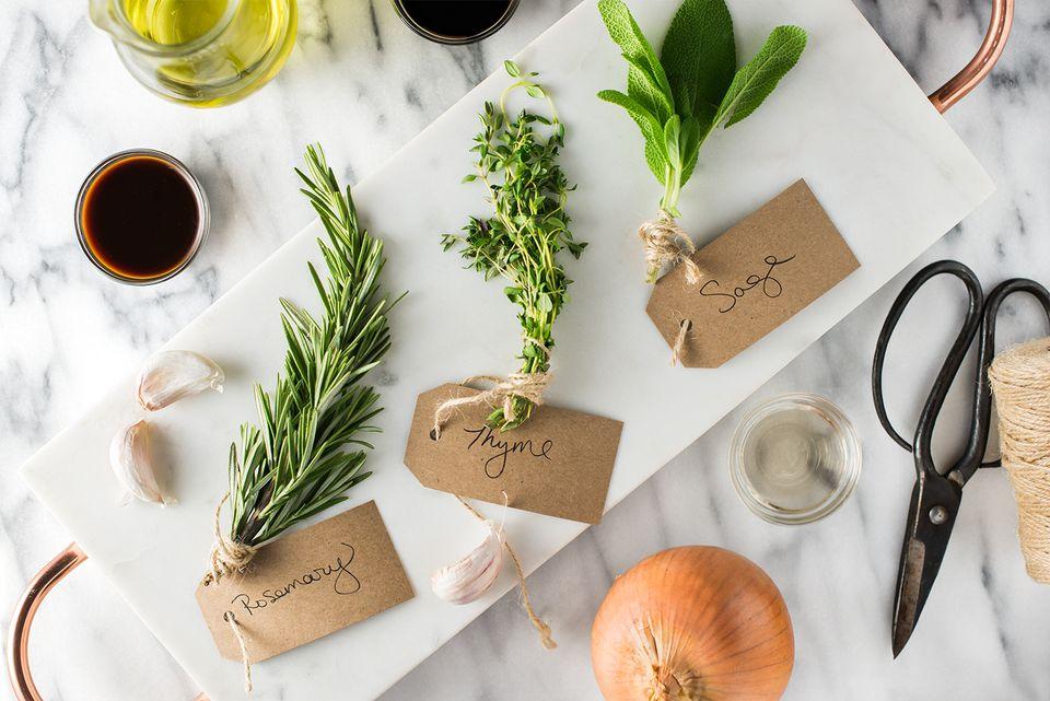 Herb Turkey Rub ingredients