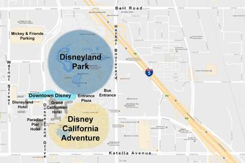 Theme Parks - Map of all us theme parks