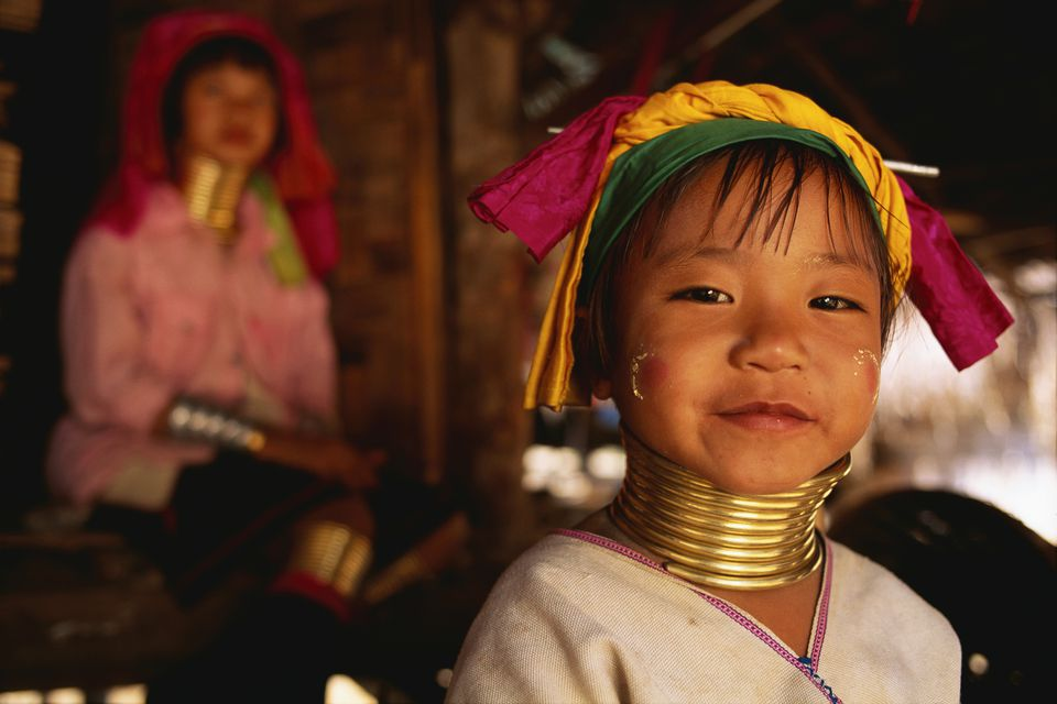 Hill tribe girl in Thailand