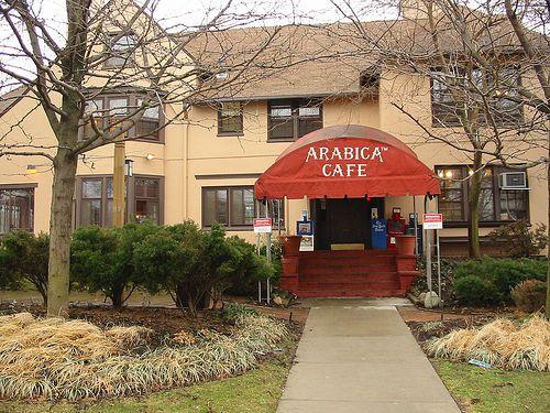 Arabica Coffee, University Circle, Cleveland Ohio