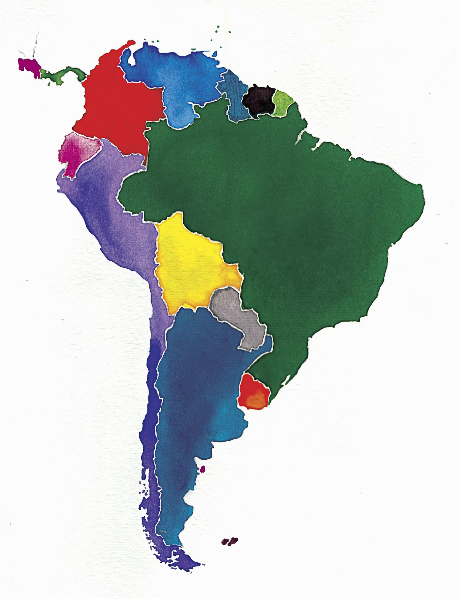 The Federal Republic of Central America 18231840