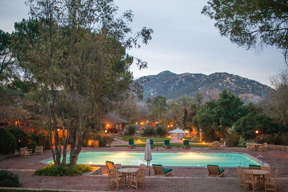 destination spas in California