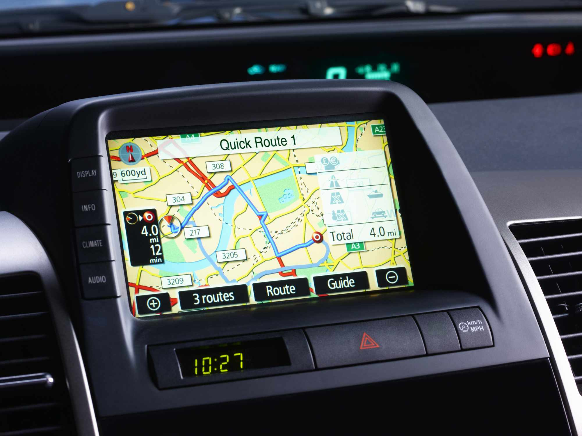 choosing built-in gps