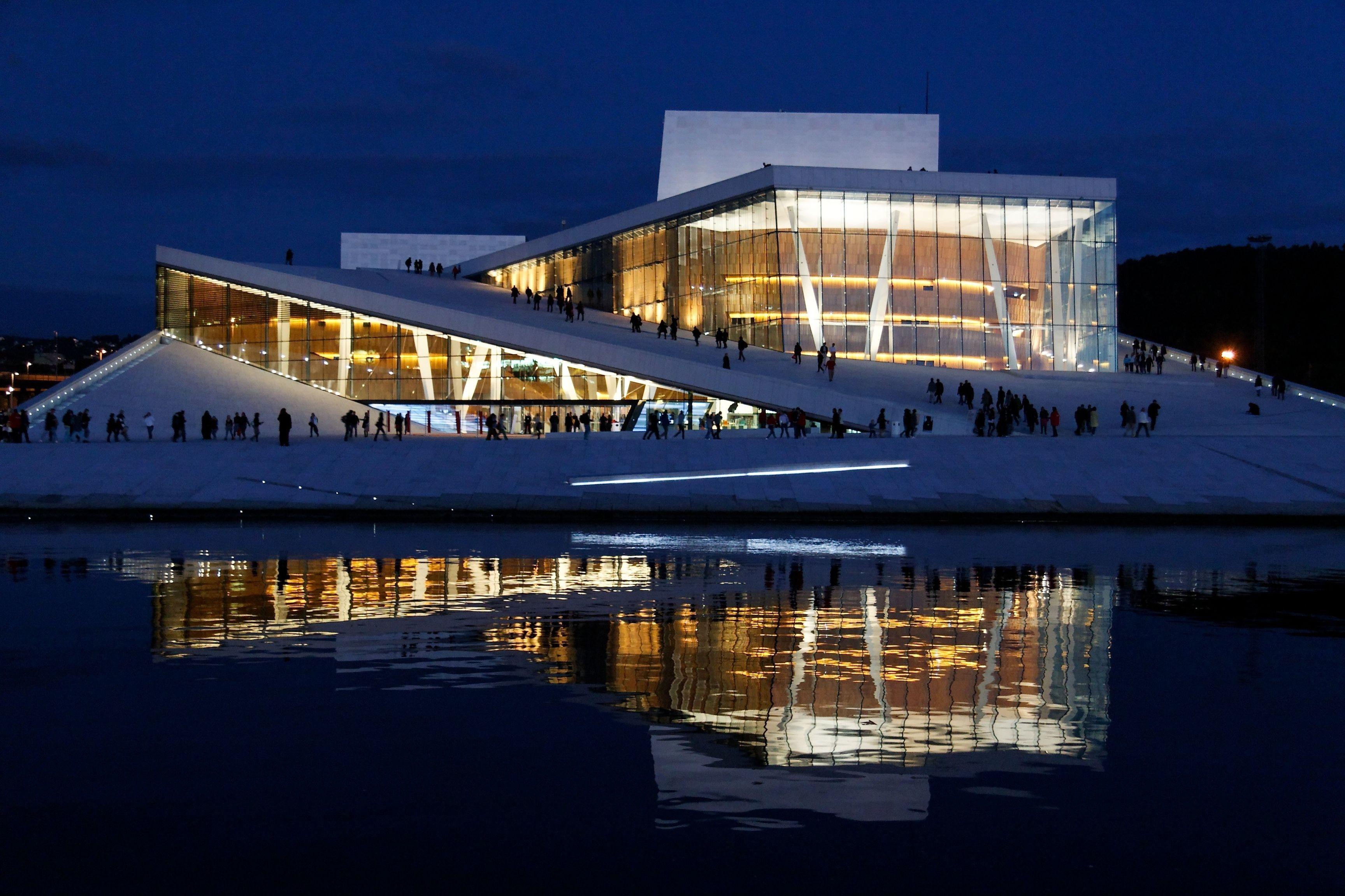Norwegian Interior Design Snohetta S Design For The Oslo Opera House