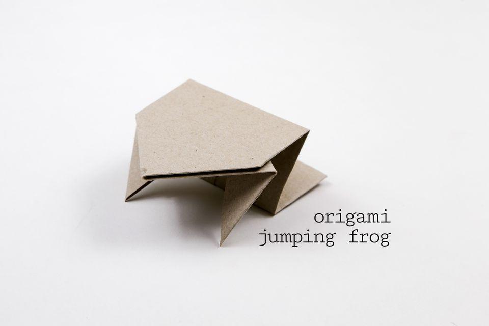 Origami Jumping Frog Tutorial