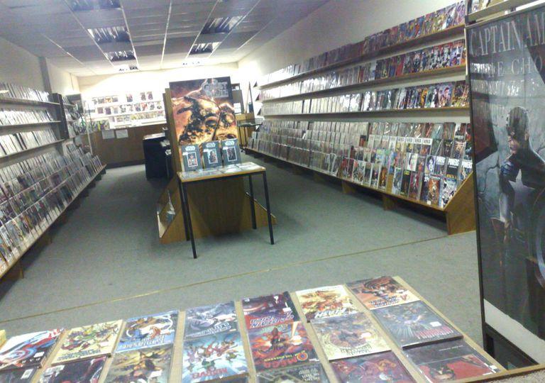 Comic Book Store FAIL