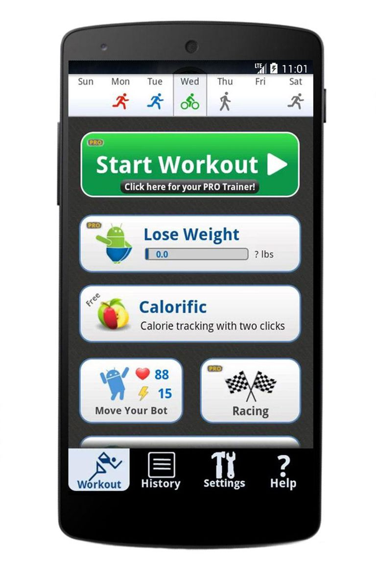 Cardio Trainer Pro (Android Fitness App): Overview