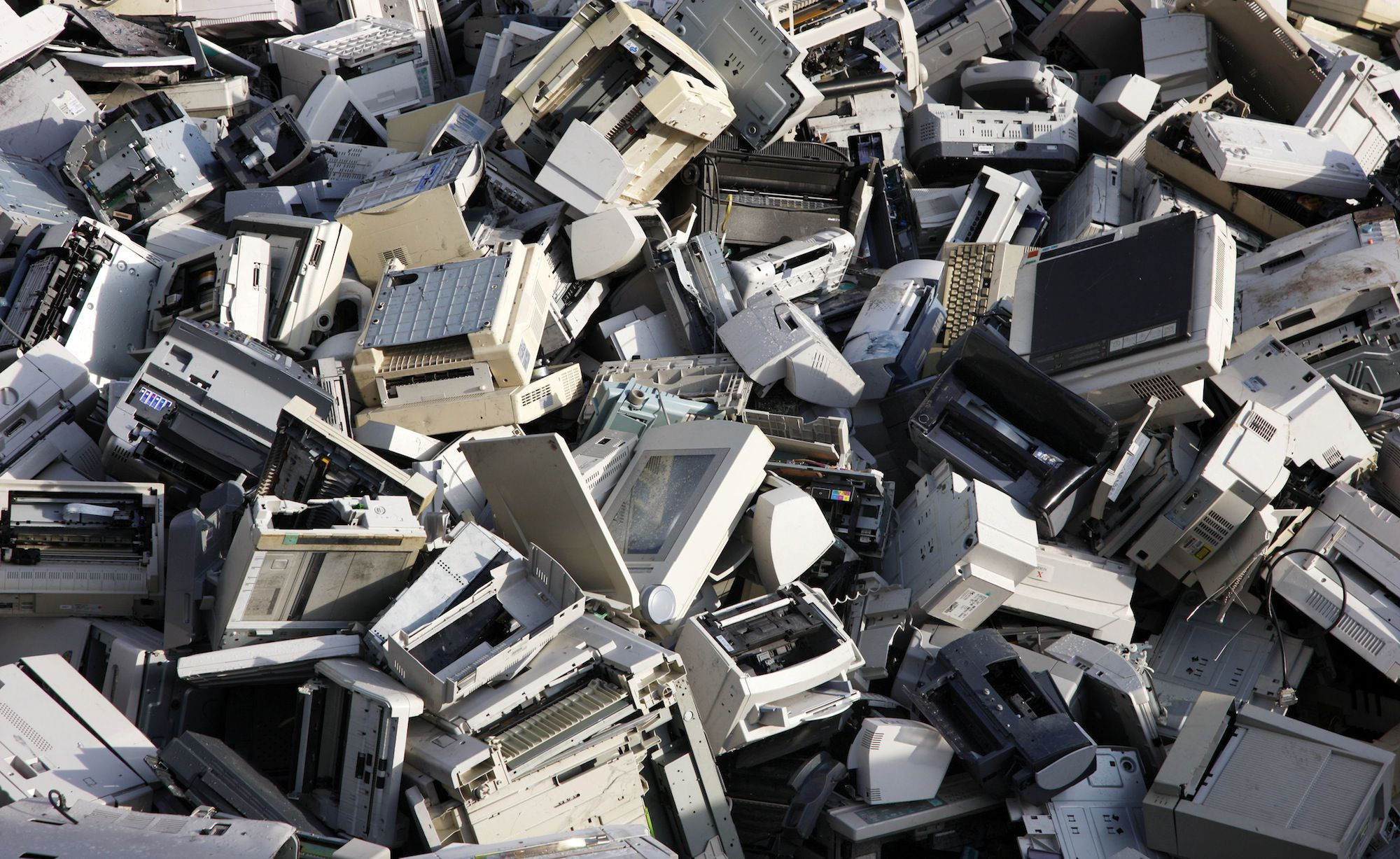 Image result for What happens during the laptop recycling process?