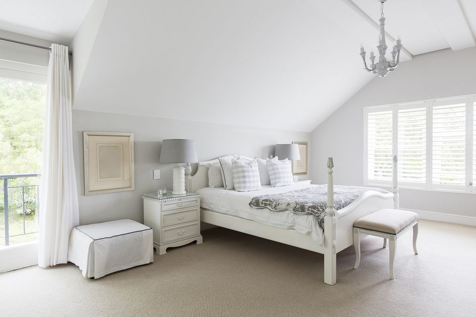 glamorous white bedroom - White Bedrooms