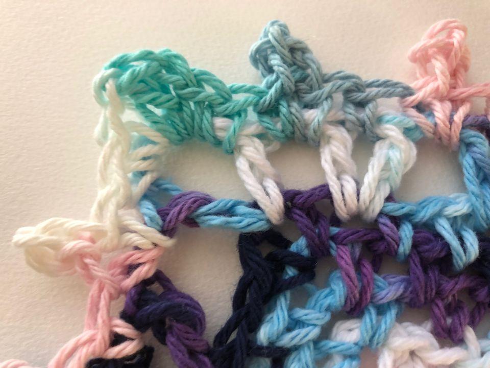 Crochet Edging Corners