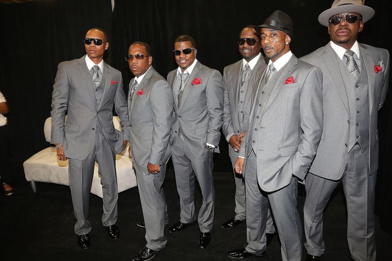 Bobby Brown with New Edition