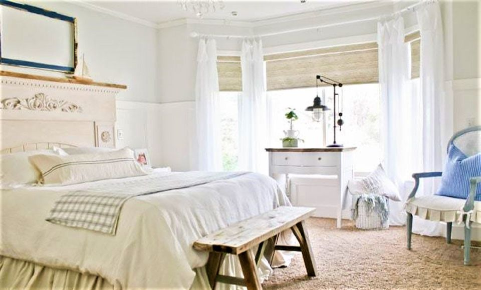 Bedroom makeover classic style after