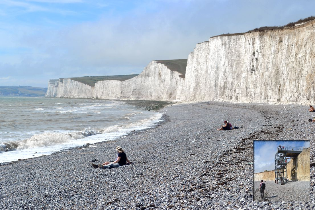 Birling Gap - A Nude Beach With An Iconic View-3177