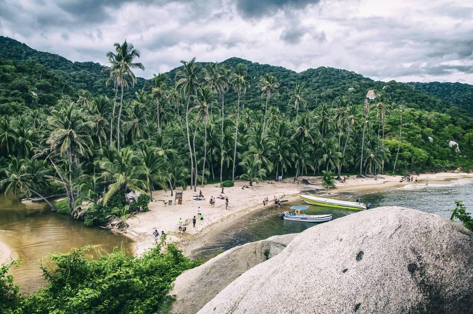 Parque Nacional Tayrona. Colombia.