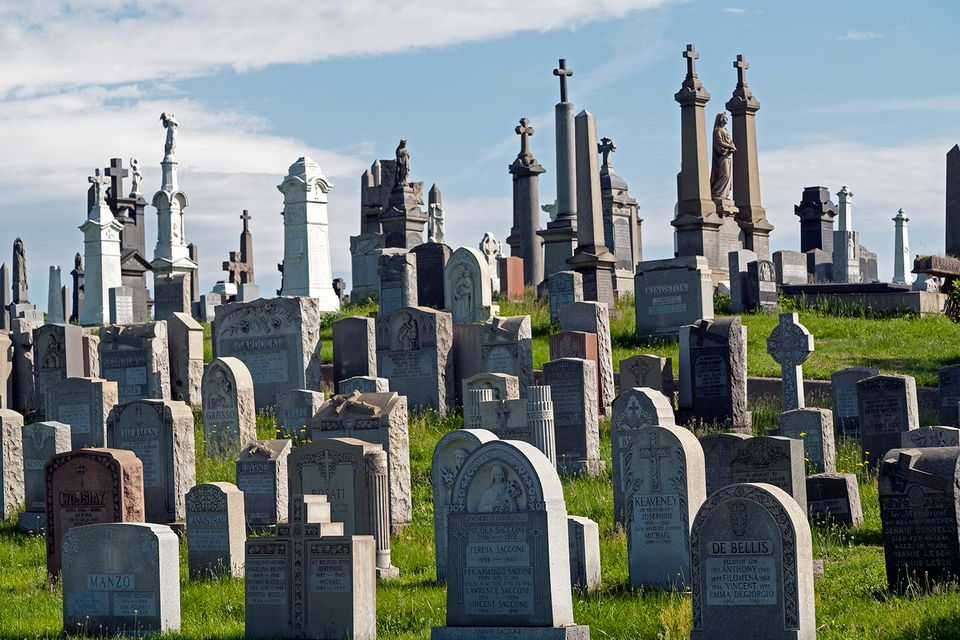 Calvary Cemetery, Queens, New York, USA