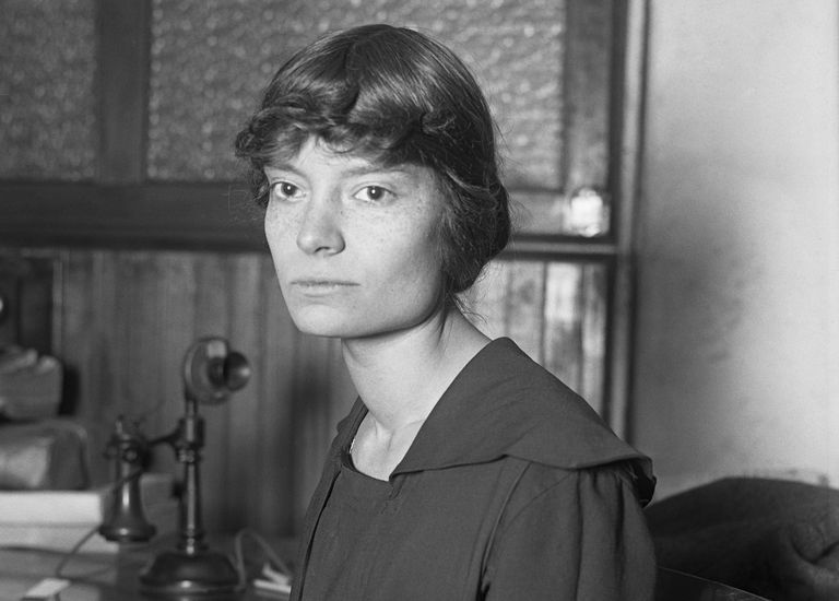 Photograph of journalist Dorothy Day