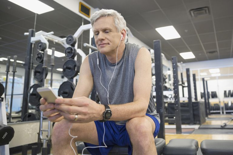 There are several iPhone apps for strength training.