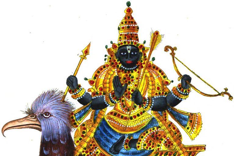 Learn About The Hindu Deity Shani Dev